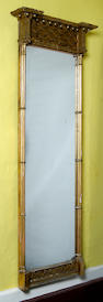 A Regency gilt framed pier glass