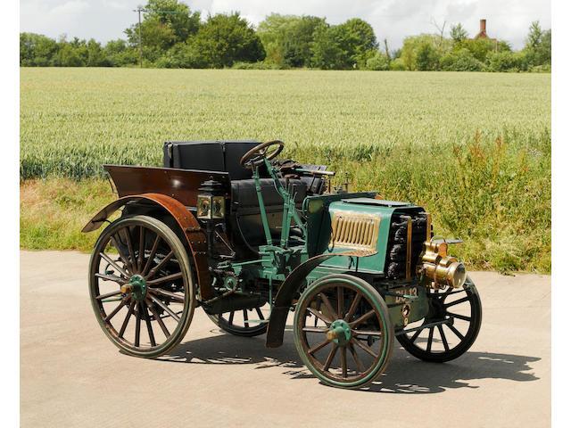 1900 MMC 6-hp Albany Concave Dog Cart