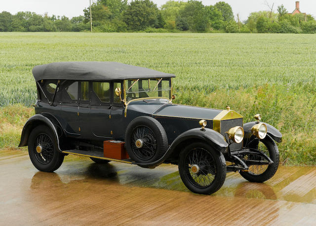 Formely the property of the late John Cuthill Sword,1922 Rolls-Royce 40/50 hp Silver Ghost Barrel-sided Tourer  Chassis no. 43JG Engine no. P123