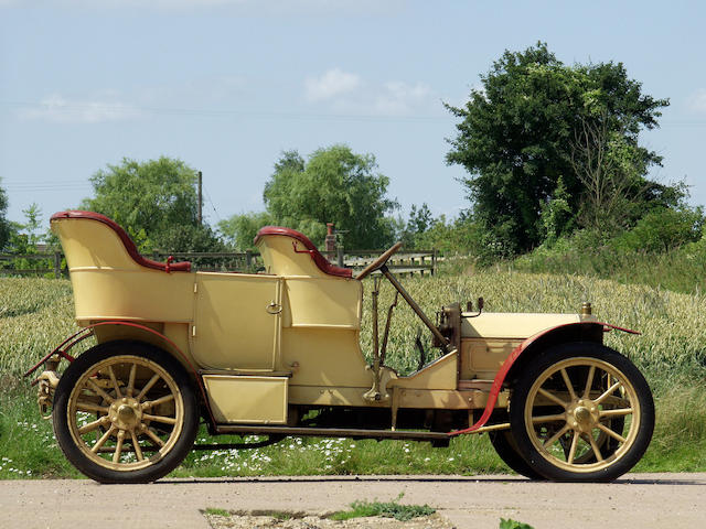 Formerly the property of the late John Cuthill Sword,1906 Martini 20/24-hp Roi-des-Belges Double Phaeton  Chassis no. 419 Engine no. 731