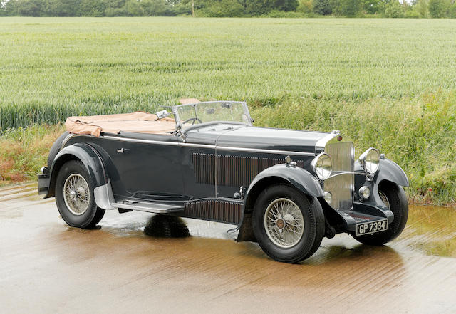 1931 Delage D8 Four-Seater Sports Tourer  Chassis no. 34785 Engine no. 1474