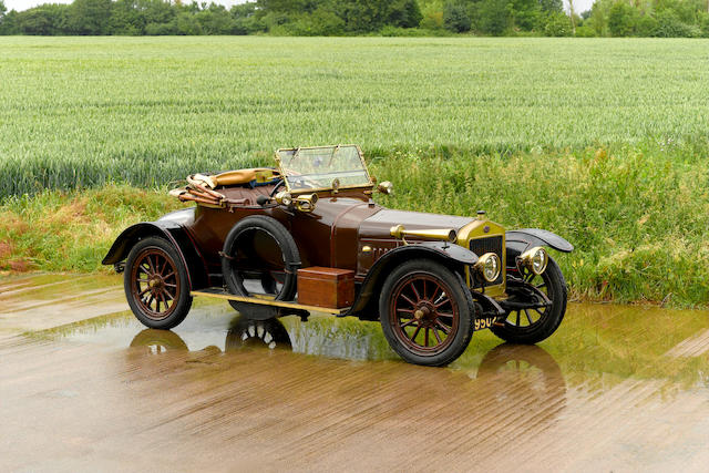 1914 Delage 15.9-hp Type AK5 Six-Cylinder Two-Seater  Chassis no. AK Series 5 10306 Engine no. 424