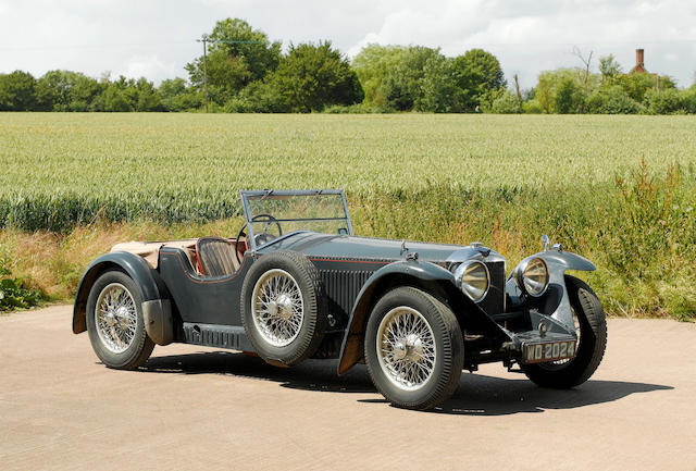 1931 Invicta 4½-litre Low Chassis S-Type  Chassis no. S40 Engine no. 7407