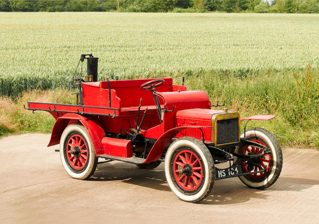 1906 Albion 16-hp Estate Fire Engine with Merryweather Steam Driven Fire Pump  Chassis no. 2344 Engine no. 02344 (50A)