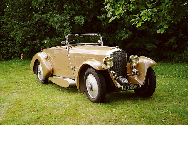 1929 Bentley  Speed Six Boat-tail Two-Seater KF2400