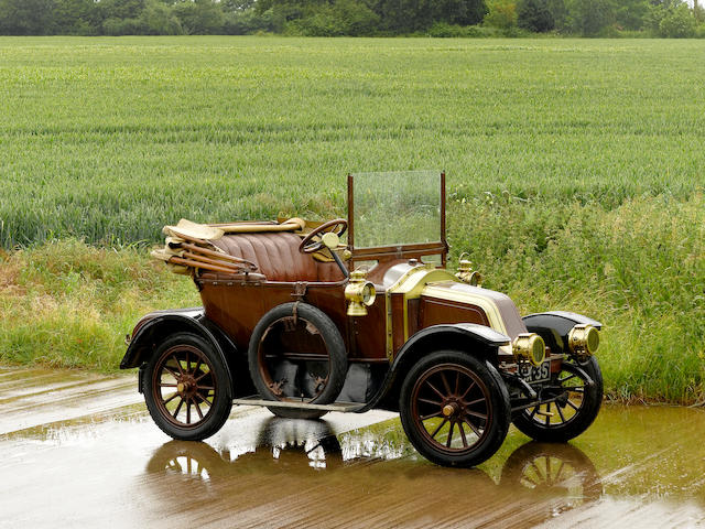 1909 Renault 8 hp Type AX Two-seater  Chassis no. AX 14553 Engine no. 3960