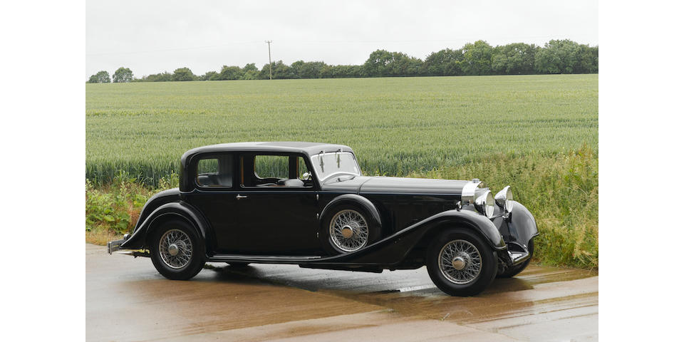1934 Hispano-Suiza Type 68 J12 Pillarless Saloon  Chassis no. 14034 Engine no. 1096