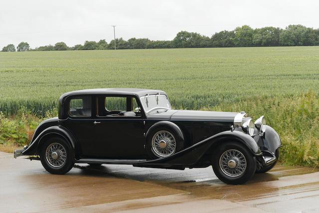 1934 Hispano-Suiza Type 68 J12 Pillarless Saloon  Chassis no. 14034 Engine no. 1096