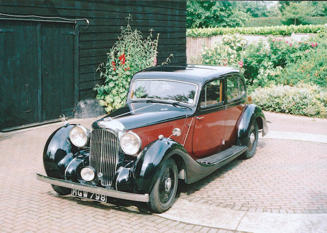 1938 Lagonda V12 Saloon De Ville  Chassis no. 16018 Engine no. 16018/V12-38