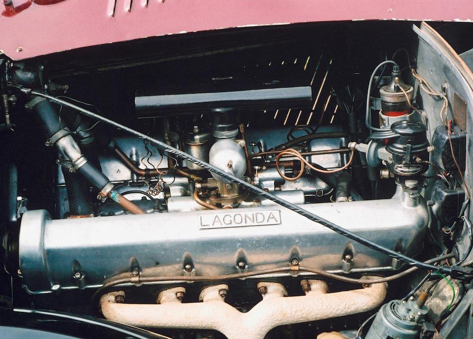 1938 Lagonda V12 Saloon De Ville  Chassis no. 16018 Engine no. 16018/V12-38