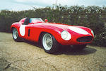 The Ex-works/Sergio Sighinolfi/Jacques Jonneret/Peter Monteverdi,1954-55 Ferrari 750 MONZA SPIDER CO