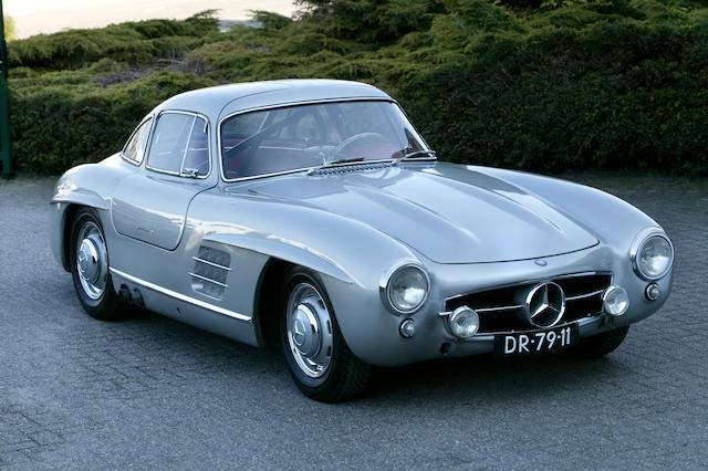 The 'Stirling Moss/Peter Garnier Tour de France history',1955-57 Mercedes-Benz 300SL 'Gullwing' Coup