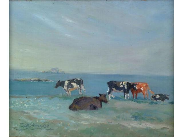 Edith Oenone Somerville (1858-1949), 32 x 39.5cm.