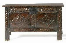 A late 17th Century coffer,