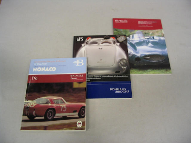 A large collection of assorted auction catalogues,