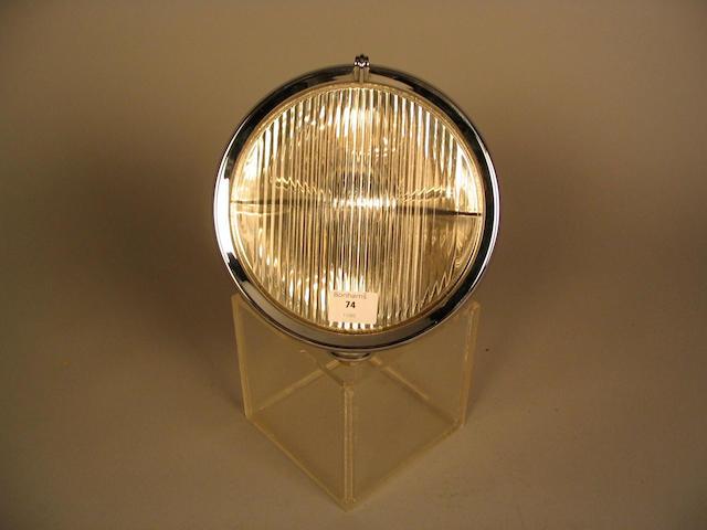 A single Lucas fog lamp,