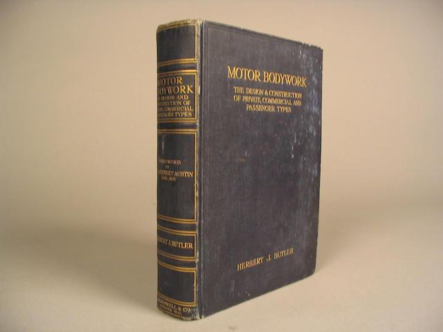 'Motor Bodywork' by Herbert J Butler,