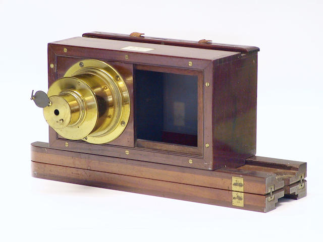 A stereoscopic camera, by Ross of London