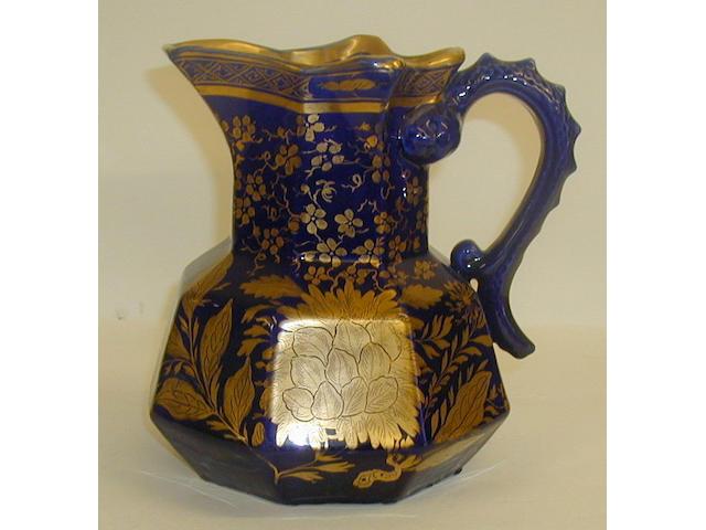 A Mason's Ironstone Hydra jug,