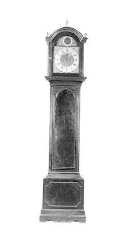 An early 19th Century mahogany longcase clock,
