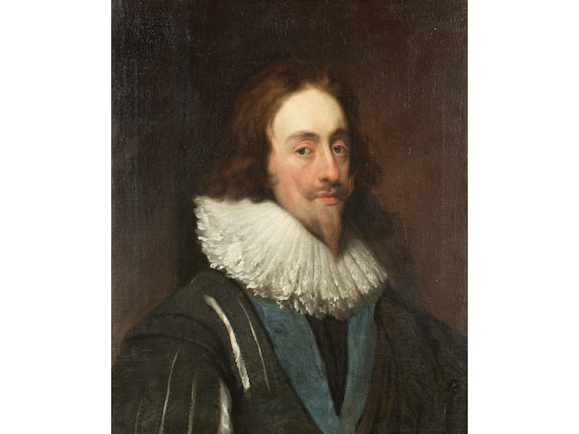Circle of Daniel Mytens (Delft circa 1590-circa 1647 The Hague) Portrait of Charles I, 69 x 56 cm. (