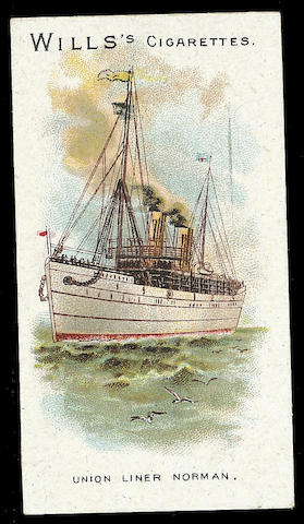 Wills Ships (Brownish Card, 100), F-EX. (592)