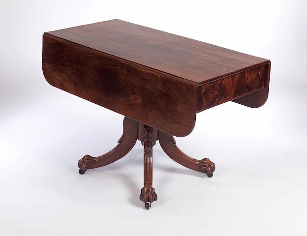 A Scottish Regency mahogany Pembroke Table,