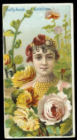 Duke Floral Beauties set (50), F-VG.