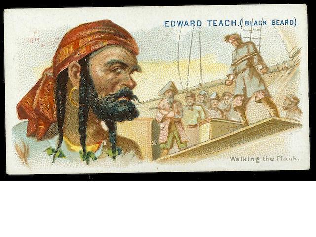 Allen & Ginter Pirates of the Spanish Main set (50), F-VG. (063)