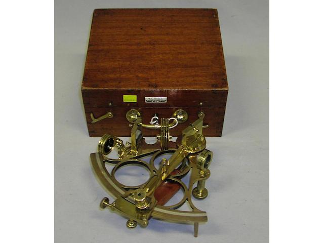 A 6.5ins radius tri-circle frame sextant,