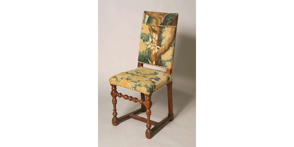 A 17th Century Walnut side chair