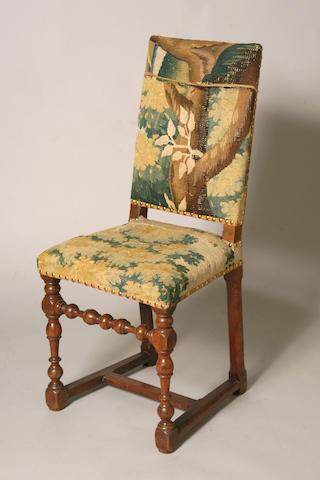 A 17th Century Walnut side chair