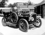 "1909 15-hp White Model ""O"" Steamer  Double Phaeton 0352"