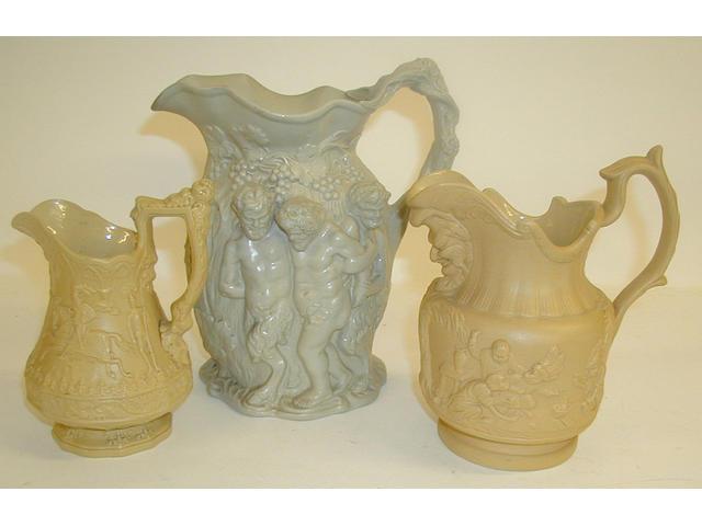 A Ridgway's 'Eglington' jug,