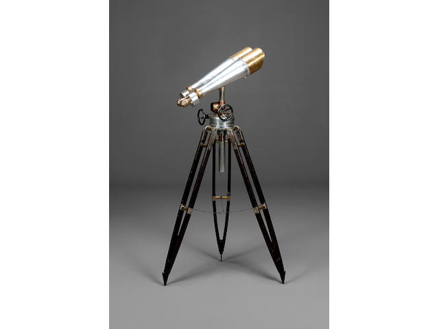A Large Pair of 20 x 120 mm Binoculars, Japanese, second quarter of the 20th century,