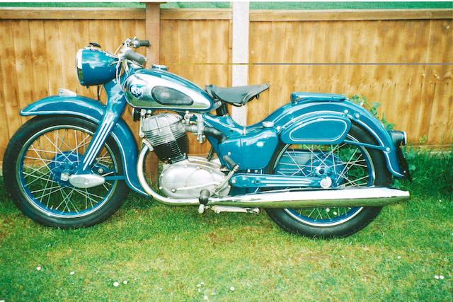 1953 NSU 247cc Max  Frame no. 1240323 Engine no. 740423