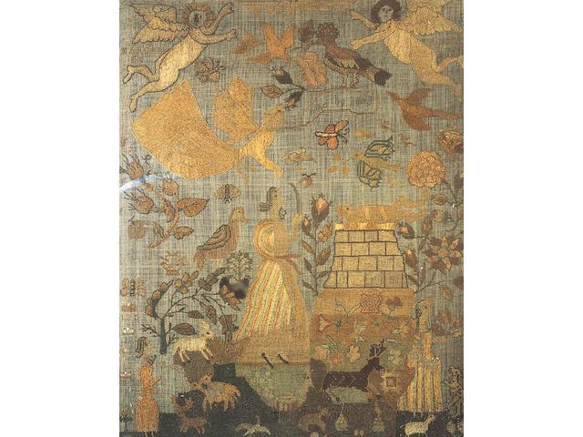 An early 18th Century sampler,