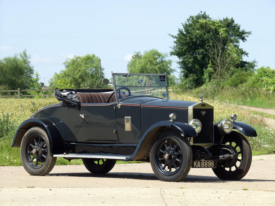 1927 Windsor Two-Seater  Chassis no. X813 Engine no. 1101