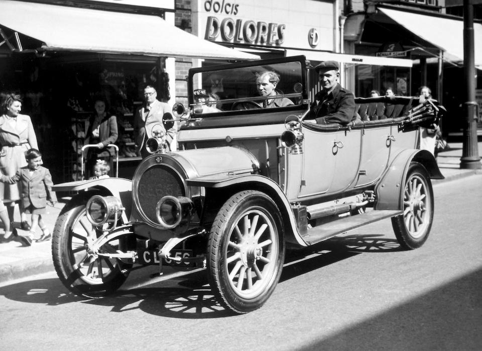 "1910 Maudslay ""Sweet Seventeen"" Tourer  Chassis no. 1100 Engine no. 1100"