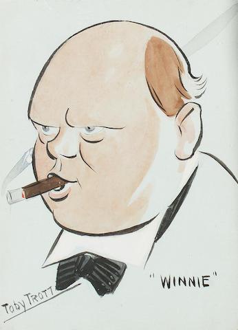 Toby Trott Winnie (Winston Churchill)