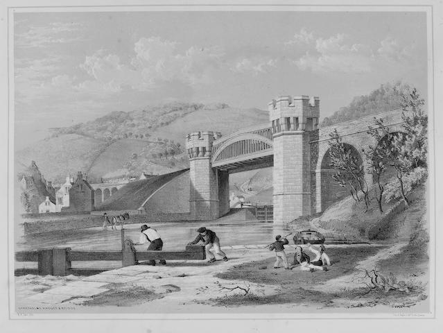BUTTERWORTH (EDWIN) and ARTHUR F. TAIT Views on the Manchester and Leeds Railway