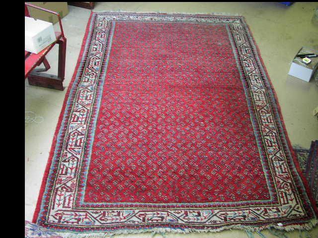 A Hamadan rug, West Persia, 1.33 x 2.07cm