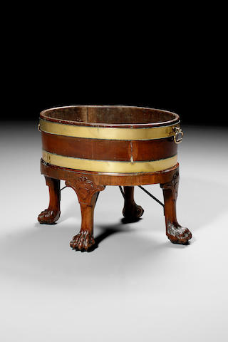 Early George III wine cistern