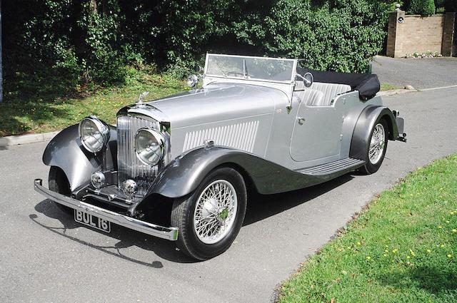 1934 Bentley 3.5-Litre Vanden Plas-style Tourer B17CW