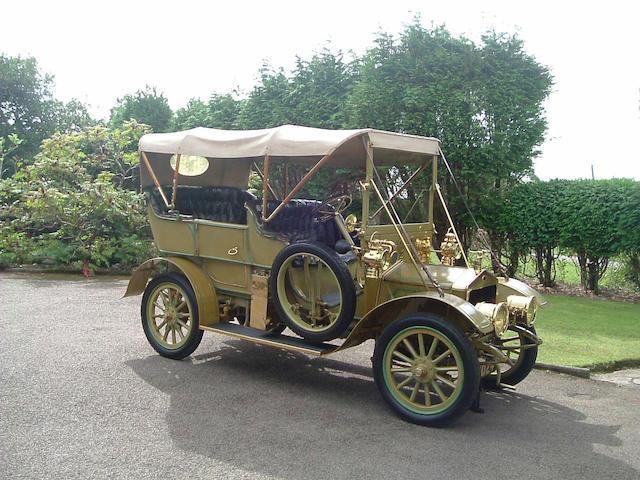 1909 Alldays & Onions  Chassis no. 2846 Engine no. 3424
