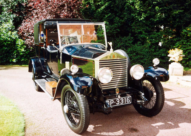 1926 Rolls-Royce 20hp Brougham De Ville GZK5