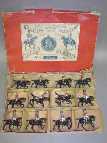 Britains EXTREMELY RARE set 72, Life Guards 1837 and 1897 12