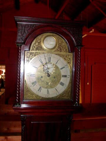 A mahogany longcase clock, John Hamilton, Glasgow, circa 1770,