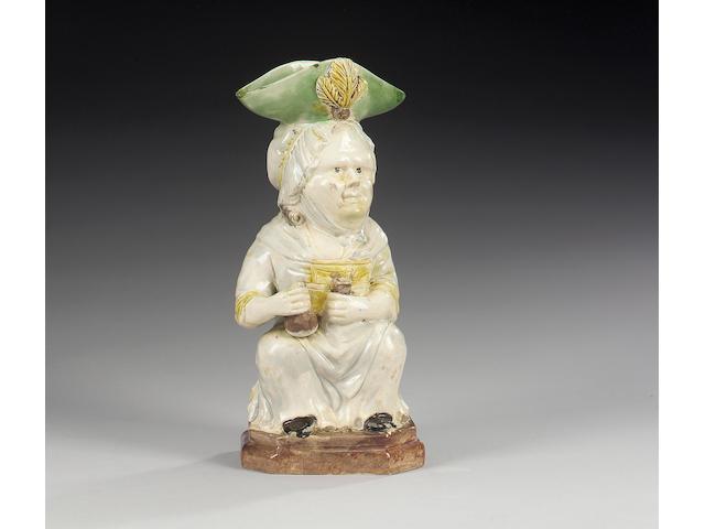 A Martha Gunn Toby jug, circa 1790,