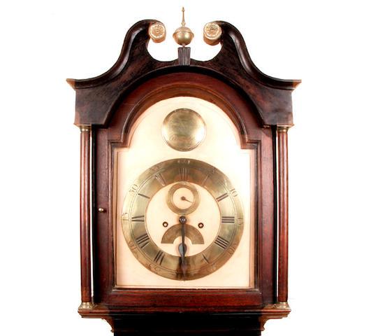 An oak cased longcase clock Robt Martin, Glasgow